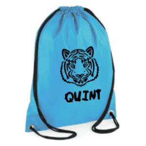 zwemtas tijger met naam