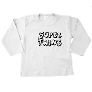 baby tshirt Supertwins