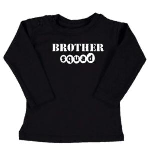 baby kinder shirt Brothersquad
