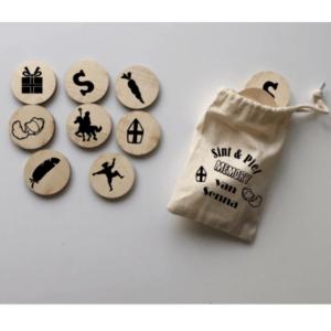 houten memory sinterklaas