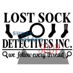 sokken detective verloren sok in de was
