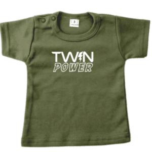 baby tshirt twinpower