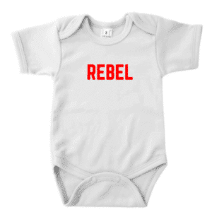 romper Rebel baby kraamkado