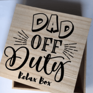 Kadobox Dad off duty Relax box
