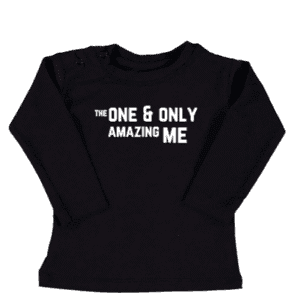 tshirt the one and only amazing me kinderen baby
