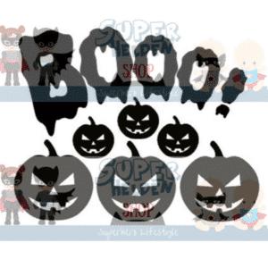 raamstickers halloween-pompoen