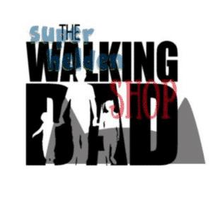 strijkapplicatie the walking dad