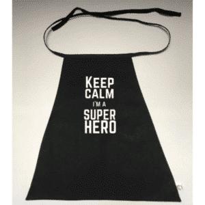 Superhelden cape Keep calm i'm a Superhero