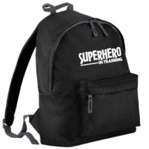 rugtas superhero in training