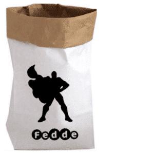Paperbag Superman-met naam